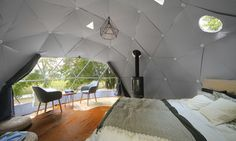 Prefab smartdome homes can pop up practically anywhere   Inhabitat - Green Design, Innovation, Architecture, Green Building
