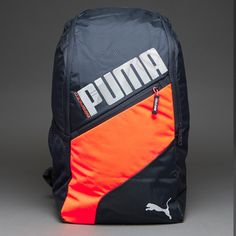 Puma evoSPEED Backpack - Total Eclipse/Lava Blast/White