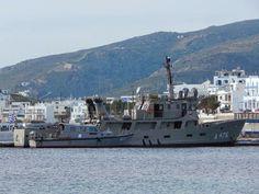 Tinos port: Υ/Γ ΣΤΡΑΤΩΝ