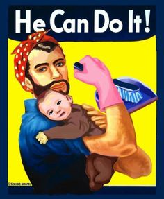 """There is a social norm that is men go out and work and bring home the bacon and the women stay at home and tend to the house and the children, but what happens when a man goes against that norm and makes the decision to be a stay at home dad? Society rejects this idea and criticizes the man for doing a """"womans job"""" and not providing for his family, but why? developmentally a child needs their dad, as well as a dad should want to spend time with their child. so why is this role reversal bad?"""