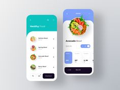 Foody - Food by Subscription designed by RonDesignLab. Connect with them on Dribbble; Ui Design Mobile, Mobile Application Design, App Ui Design, User Interface Design, Mobile Ui, Food Design, Android App Design, Website Design Layout, Layout Design