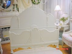 stunning painted twin bed awesome shabby chic bliss pinterest vintage furniture bliss. Black Bedroom Furniture Sets. Home Design Ideas