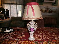 Antique 20s 30s ART DECO Boudoir Lamp Bed Side Night Stand