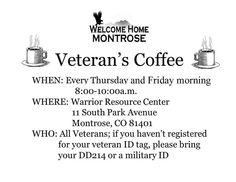 Montrose welcomes veterans.