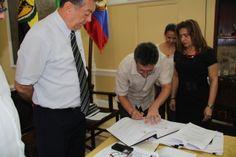 Federico Gallego Vásquez se posesionó como Vicerrector Académico #Unicartagena