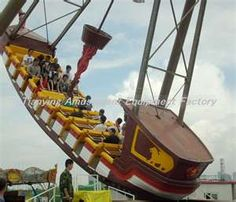 giant viking rides Amusement playground real pirate ship for sale Pirate Ship For Sale, Real Pirate Ships, Pirate Ship Ride, Fair Rides, Amusement Park Rides, Cedar Point, Carnival Rides, Water Slides, Adventure