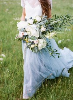 Bouquet of Soft Wildflowers | photography by http://heathernanphoto.com/