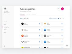 Revolut for Business Counterparties — Dashboard