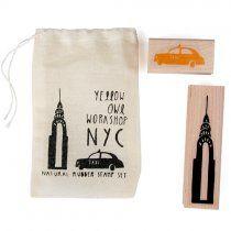 New York City Stamp Set