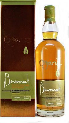 Benromach Organic 2008 single malt. Tasted on a whisky festival.