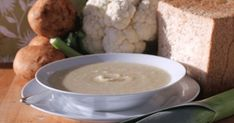 A fast winter warming soup that is full of potatoes, cauliflower and leek. So easy it only takes 20 minutes to get cook using chicken stock as a base. Find more recipes on Kidspot New Zealand Healthy Soup Recipes, Vegetarian Recipes, Snack Recipes, Cooking Recipes, Budget Recipes, Healthy Meals, Easy Recipes, Snacks, Big Meals