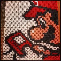 Super Mario perler bead art by flamma82