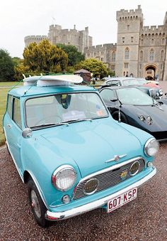 Lamborghinis, Bugattis and even a Rolls-Royce made in 1914 lined the grounds of Windsor Castle as the Concours of Elegance returned to the Queen's residence. The classic car show has not been held in the town for four years but it made a spectacular comeback at the weekend with motoring fans c...