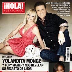 Revista Hola Puerto Rico Yolandita Monge y Topy Mamery