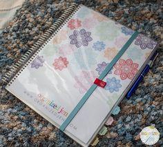 Organized Jen: Erin Condren Spiral Notebooks -  Unboxing & First Impressions #ecspiralnotebooks #fabfans #ecbloggers