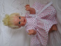 Mattel cheerful tearful in little dress I made.