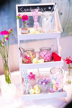 Sweet colorful candy bar Effective pictures that we offer via buffet ideas decoration A quality picture can tell you many things. Birthday Candle Images, Birthday Candles, Candy Bar Crafts, Candy Stand, Donut Bar, Diy Bar, Colorful Candy, 1st Birthdays, Birthday Greeting Cards