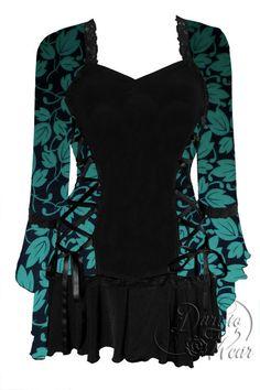 Dare To Wear Victorian Gothic Women's Plus Size Bolero Corset Top Ivy