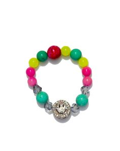 Jewels By Dunn Bright Smiles Bracelet – Love & Pieces | Designer Online Jewelry Boutique