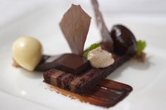 Jumeirah Creekside Hotel - Dubai Restaurants - Blue Flame - Seafood and Steak - Chocolate