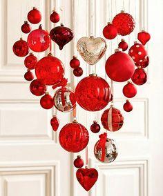 Valentines wreaths ideas   Valentine ornaments wreath. https://youtu.be/BUAvGjQQORU   #valentine2017 #valentinesdecor #valentinewreaths #wreathideas #diywreath #wreaths #valentinesideas #valentinesdaydecor #valentinesdaywreath #valentinesdayideas
