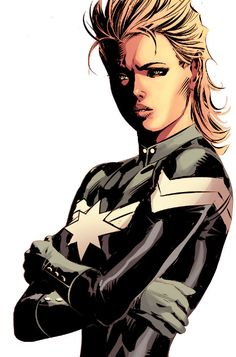 Captain Marvel (Carol Danvers) by Mike Deodato Jr