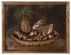 Metal mural for kitchen backsplash - traditional - kitchen tile - tampa - American Tile and Stone/Backsplashtogo.com