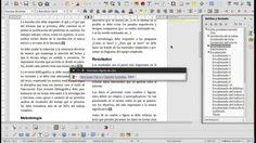 Introducción a LibreOffice Writer y Zotero para reportes del curso LO-0134