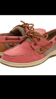 Pink Sperrys. The next pair I want