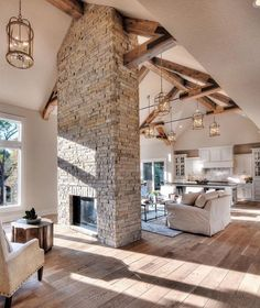 Love the double fire place