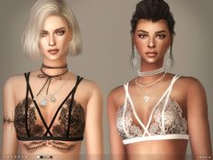 Kathryn Bralet by toksik at TSR via Sims 4 Updates