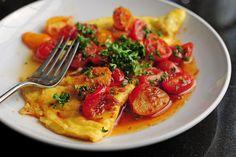 Omelette ai pomodorini