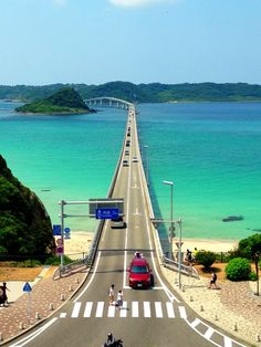 Tsunoshima Bridge @ Yamaguchi, Japan 角島大橋 下関市 山口県