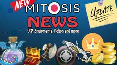 Mitosis the Game - News, VIP (Evolution), New potion and Equipments - Ag...