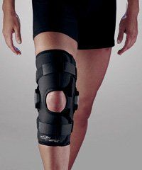 741e181799 Amazon.com: DonJoy Deluxe Hinged Knee Brace, Drytex Sleeve, Open Popliteal,  Large: Health & Personal Care