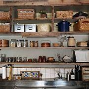 Kitchen/食器棚DIY/賃貸でも楽しく♪/インスタ→chii_ne/ブログに作り方の前編を載せています♪のインテリア実例 - 2015-10-25 00:29:52
