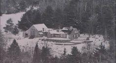 Tasha Tudors house in winter