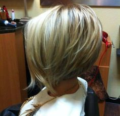 elevated bob haircut