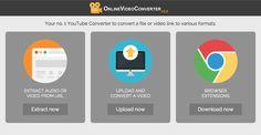 Convierte a MP4, MP3, AVI con nuestro Convertidor de Vídeos de YouTube. No es necesario descargar ningún software. ¡Fácil, rápido y gratis!