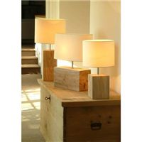 Wooden lamps - a cosy natural look - beautiful