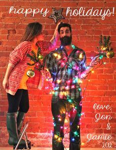 Funny couple christmas cards – merry christmas and happy new year 2018 Christmas Card Pictures, Funny Christmas Cards, Holiday Pictures, Christmas Photo Cards, Xmas Cards, Cute Photos, Christmas Photos, Christmas Humor, Christmas Presents