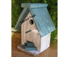 Off Reclaimed Barnwood Birdhouse Nautical by TallahatchieDesigns Bird House Plans, Bird House Kits, Bird House Feeder, Bird Feeders, Outdoor And Country, Birdhouse Designs, Birdhouse Ideas, Bird Houses Diy, Wooden Houses