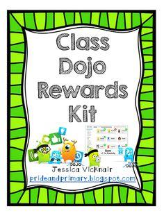 Class Dojo Rewards! A Free Rewards Kit for Your Classroom!