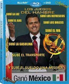 El Rincon del Humor: Los Juegos Del Hambre, Mexican Edition...