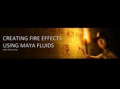 Creating Fire using Maya Fluids