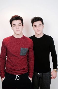 Grayson and Ethan Dolan ❤️ Cutest guys ever.