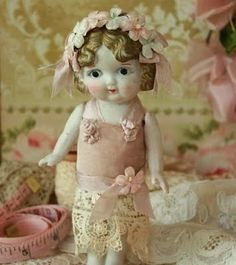 bisque doll 1920s