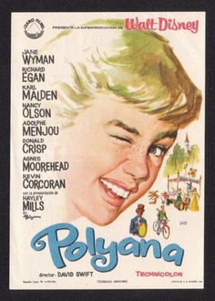 Loved this movie growing up-Do not know why Pollyanna is spelled incorrectly...