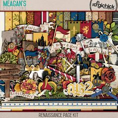 Renaissance Page Kit by Meagan's Creations