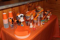 Food & party ideas for Garfield party.
